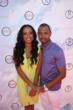 Selita Ebanks and Terrence J (photo credit: Arnold Turner / Reed For Hope Foundation)